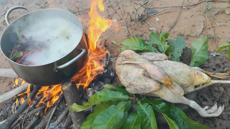 Angkor Village Food